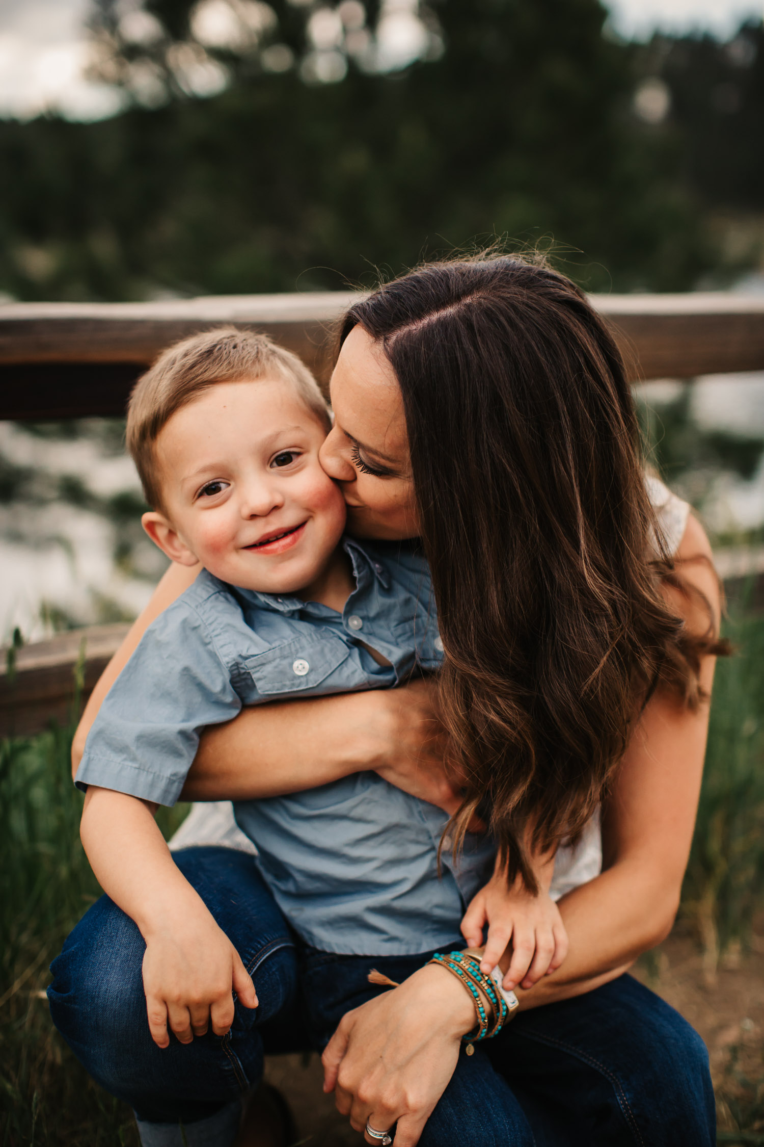 mother son holding hands gorgeous light scottsdale photographer