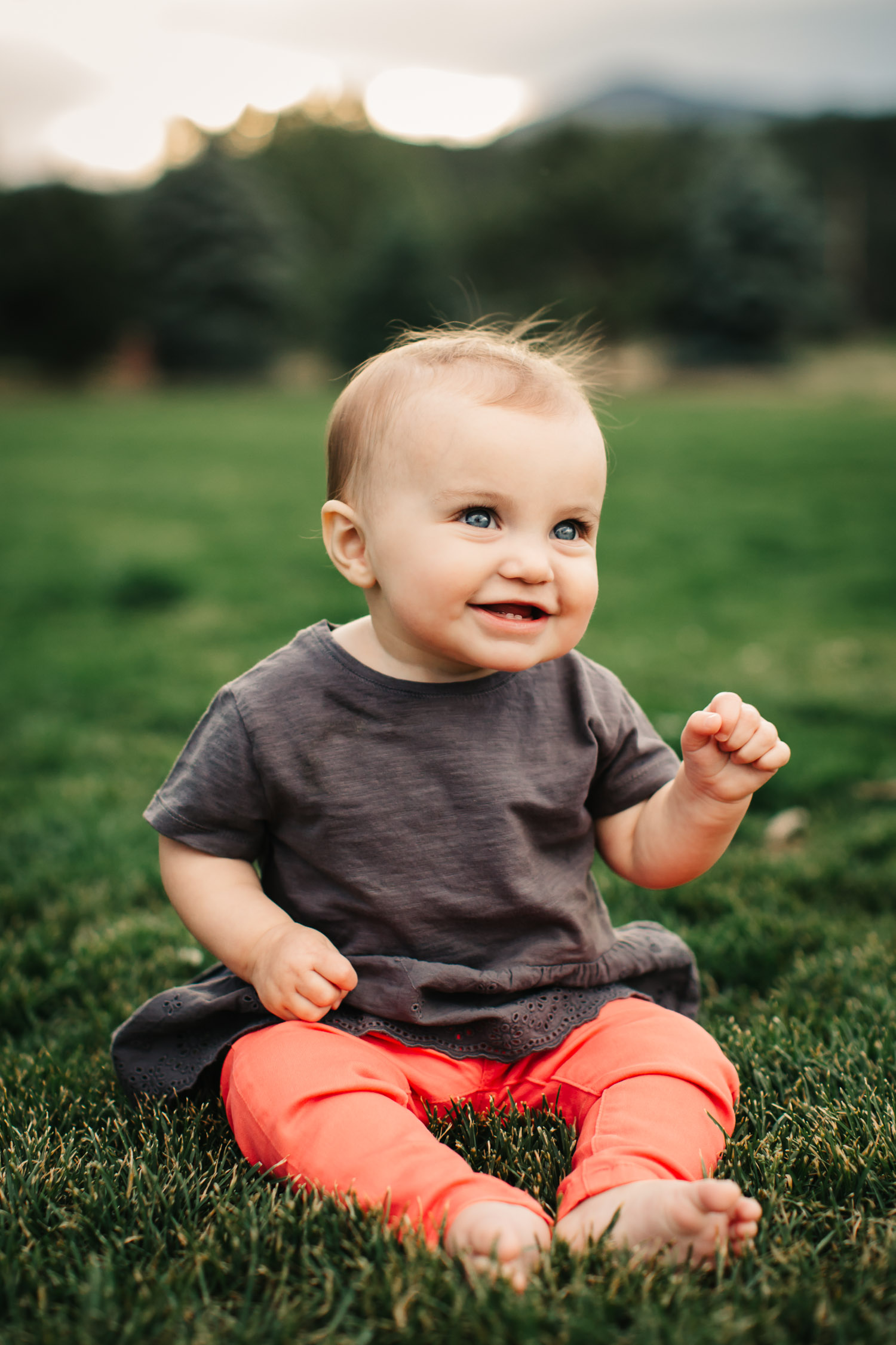 young child happy portrait photography Phoenix Arizona